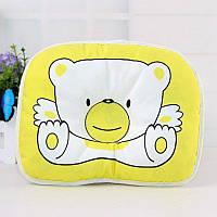 Детская ортопедическая подушка в коляску для новорожденных  Оптом