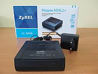 Модем ADSL2+ Annex A/B Zyxel P660RU2 EE