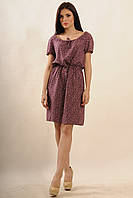 Платье Кира Ri Mari баклажан