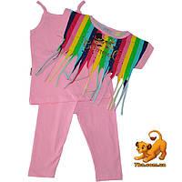 """Яркий летний костюм-тройка """"Carnaval"""" , для девочек (4-5-6 лет) 3 ед. в уп."""
