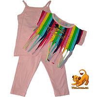 """Летний костюм-тройка """"Carnaval"""" , для девочек (4-5-6 лет) 3 ед. в уп."""