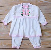 Одежда на выписку с роддома для новорожденных девочек
