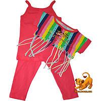 """Летний детский костюм-тройка """"Carnaval"""" , для девочек (4-5-6 лет) 3 ед. в уп."""