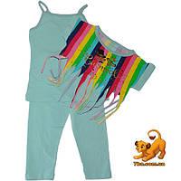 """Красивый летний костюм-тройка """"Carnaval"""" , для девочек (4-5-6 лет) 3 ед. в уп."""