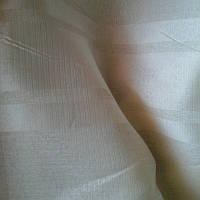 Тюль лен с атласной полосой
