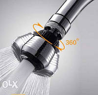 Аэратор-насадка на кран экономит воду до 75%