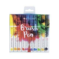 Набір пензлів-ручок Ecoline Brushpen, 10шт, Royal Talens