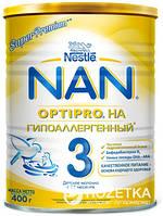 Смесь Nestle NAN Гипоаллергенный 3 с 12 месяцев 400 г NAN 1000238