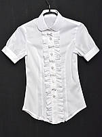 Школьная блузка  Бантик