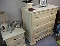 Комод классический деревянный Лиана/Мрия цвет бежевый