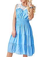 Женское платье с резинкой на поясе (15 br)