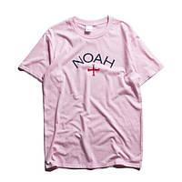 Футболка Noah розовая мужская,женская