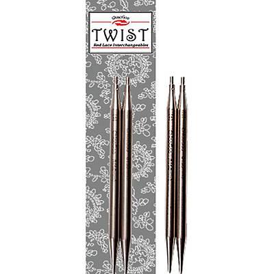 Съёмные укороченные спицы №5.0 ChiaoGoo Twist Lace