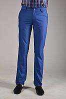 Мужские подуженные сине-голубые  брюки PRODIGY