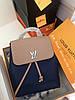 Крутой женский рюкзак Louis Vuitton LOCKME натуральная кожа (реплика)
