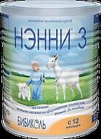 Смесь сухая молочная адаптированная для детей от 12 месяцев НЭННИ  3, 400 г., 1029016