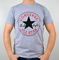 Футболка Converse серая мужская,женская
