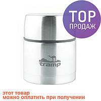 Термос пищевой с широким горлом 0,7л Tramp TRC-078 / Термос туристический