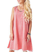 Женское летнее шифоновое платье (801 br)