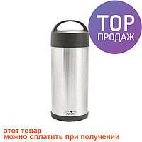 Термос пищевой металлический 2л Stenson MT-0074/ Термос туристический