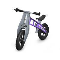 Firstbike Беговел Cross with brake цвет: фиолетовый