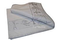 Крестильное полотенце хлопок 70*140 см. Турция