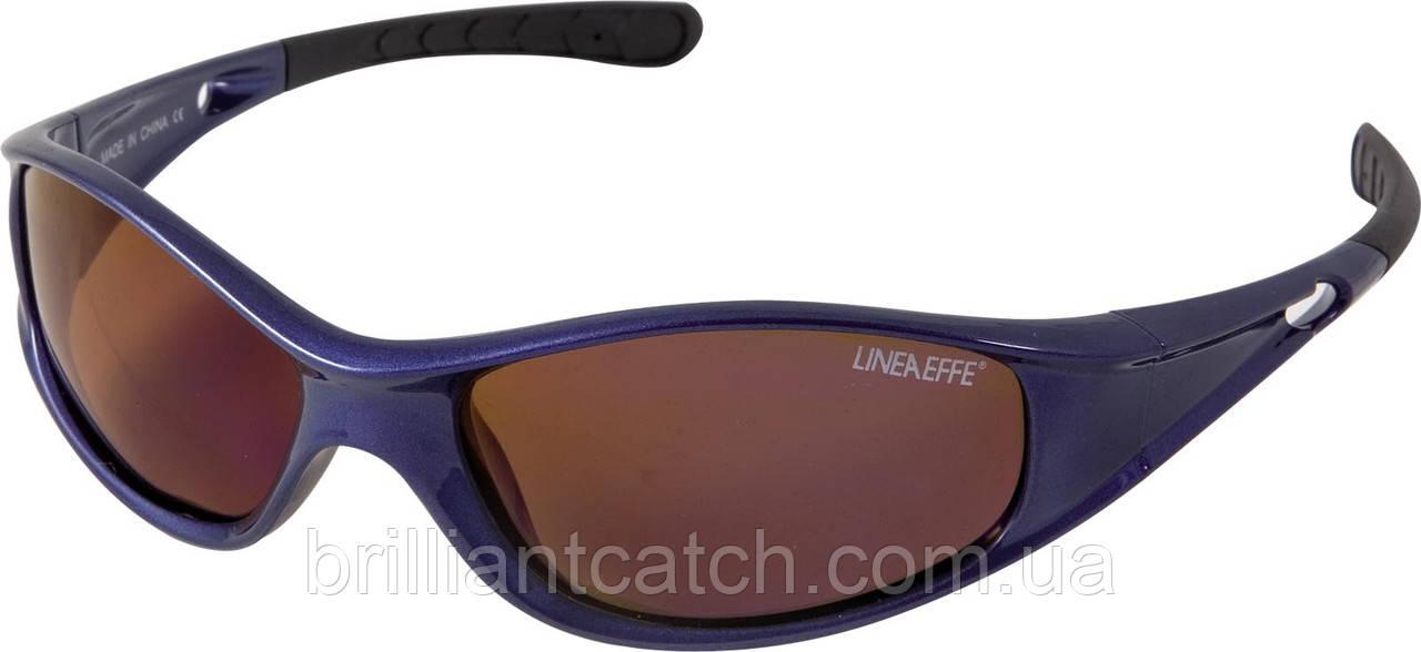 Очки Lineaeffe поляризационные №9800007 (коричневые линзы)