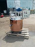 Котел варочный сыроварня  кпэ-100, фото 2