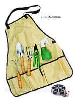 Садовый фартук, компактный садовый набор инструментов Garden Apron (Гаден Эйпрен)