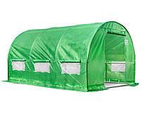 Фолиевый тепличный туннель для сада 2,5x4м
