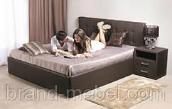 Ліжко двоспальне у м'якій оббивці Ріанна / Кровать двуспальная в мягкой обивке Рианна