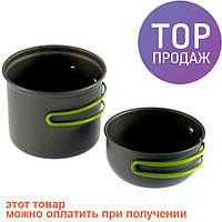 Набор туристической посуды котелок чашка в чехле/ Котелок туристический