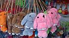 Сумка-рюкзак Кролик из натурального меха (Разные Цвета)