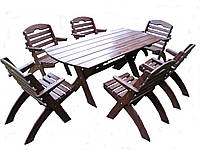 Садовая мебель деревянное