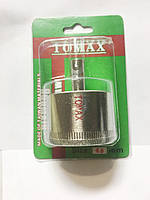 Алмазная корончатая фреза (коронка),TOMAX (томакс), 45мм