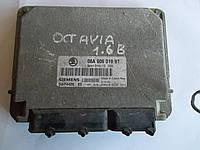 Блок управления двигателем 1.6 8V 06A906019BT sk Skoda Octavia Tour 1996-2010