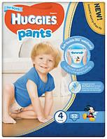 Подгузники-трусики Huggies Pants для мальчиков 4 (9-14 кг),52 шт.