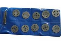 Диски отрезные алмазные 22 мм 10шт.  с держателем