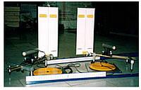 Лазерный стенд для измерения параметров заднего моста автомобиля «ПАНОРАМА-КВАДРО»