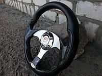 Руль спортивный №821 (черное дерево)., фото 1