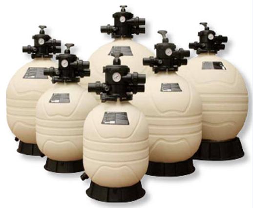 Emaux MFV24 — песочный фильтр для бассейнов с верхним подключение