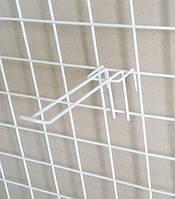 Крючёк на сетку (17 см. двойной. металлопластик. прут - 4 мм)