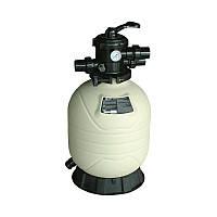 Песочный фильтр для бассейна Emaux MFV27a; 14.4 м³/ч; верхнее подключение