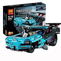 """Конструктор LELE 38000 """"Спортивный гоночный драгстер"""" 647 деталей аналог Лего Техник (LEGO Technic) 42050"""
