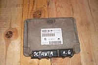 Блок управления двигателем комплект 1.6 8V sk Skoda Octavia Tour 1996-2010