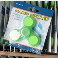 Игрушка-тренажер - спиннер фосфорный, вращающаяся на подшипниках (антистрессовая) Hand spinner