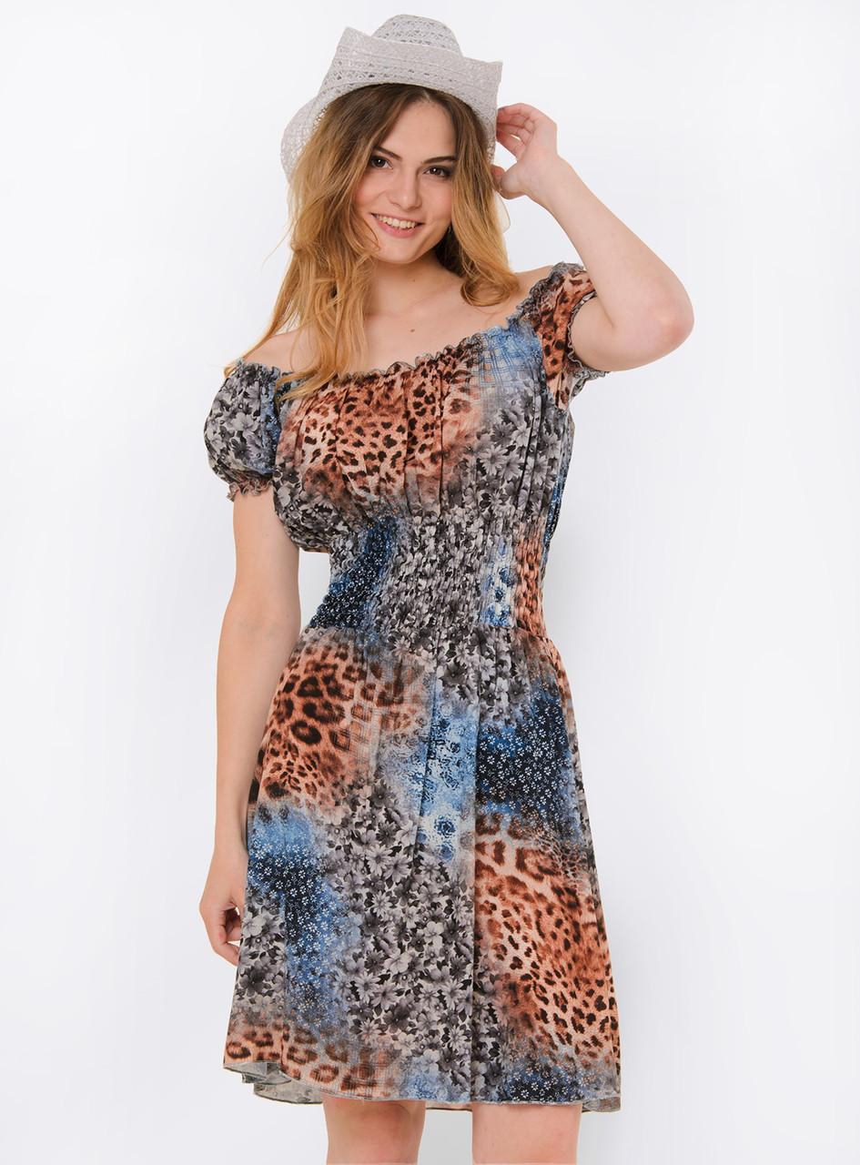 b9b5279d5df Летнее женское платье-трансформер с ярким принтом 90114 1 - Модный Оазис в  Харькове