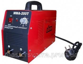 Зварювальний інверторний апарат JUBA ММА-200 T