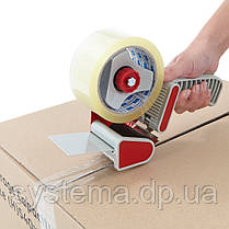 Диспенсер ручной упаковочный для клейких лент с регулировкой натяжения, фото 3