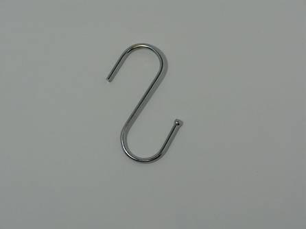 Крючёк S-образный (толстый. прут - 3.5 мм. Высота 7.8 см)